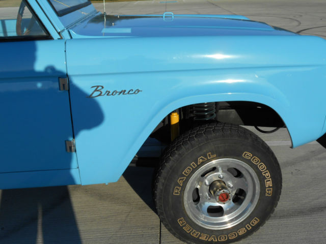 1973 Ford 4x4 Front Axle : Ford bronco uncut auto inch rear end