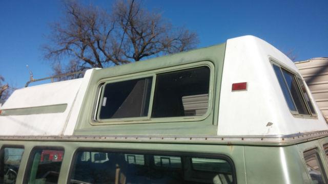 1973 ? Ford Econoline custom E 200 camper van turtle top ...