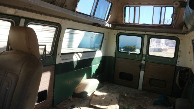 Motor Vehicle Bill Of Sale >> 1973 ? Ford Econoline custom E 200 camper van turtle top ...