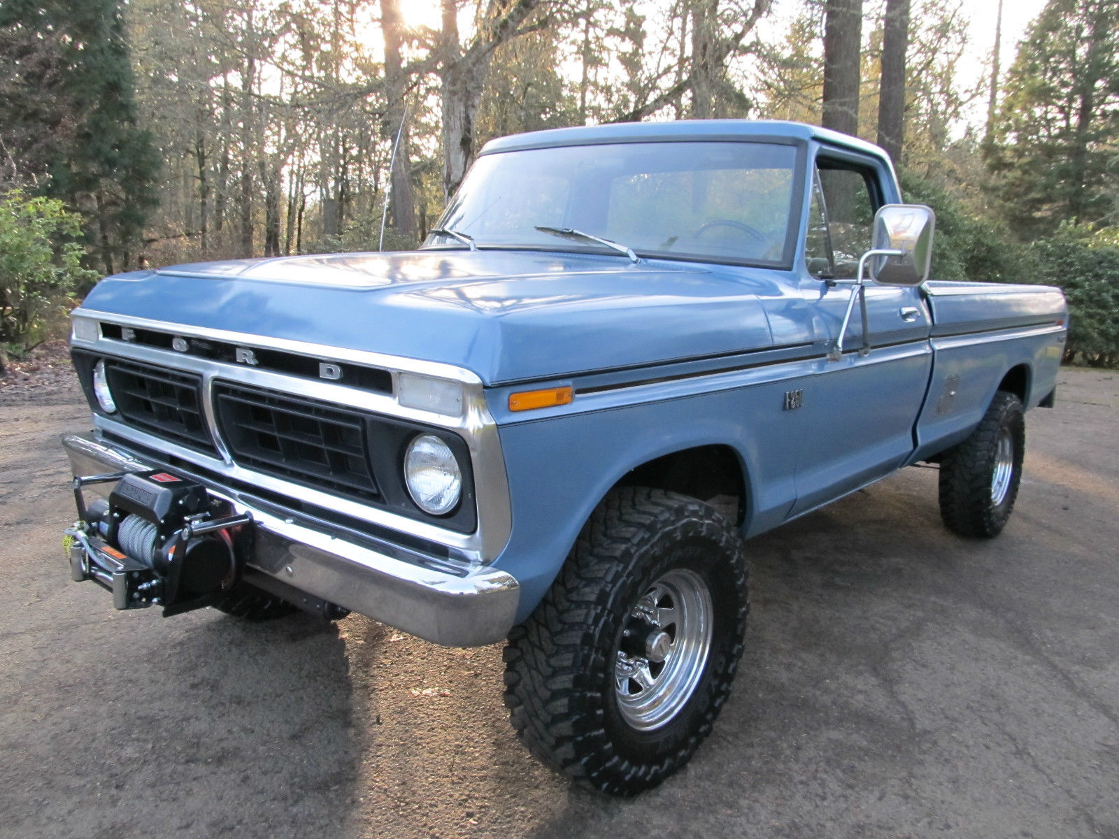1973 Ford 4x4 Front Axle : Ford f highboy classic for sale