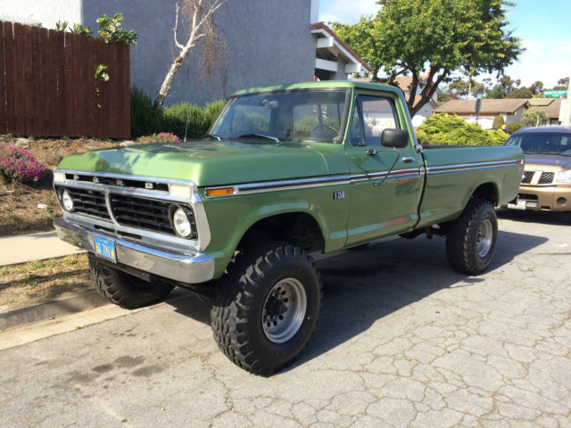 1973 ford f 250 highboy 4x4 no reserve auction classic ford f 250 1973 for sale. Black Bedroom Furniture Sets. Home Design Ideas