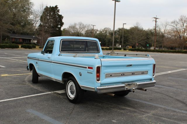 1973 ford f100 custom 2wd shortbed 302 v8 c4 auto a c p s classic ford f 100 1973 for sale. Black Bedroom Furniture Sets. Home Design Ideas