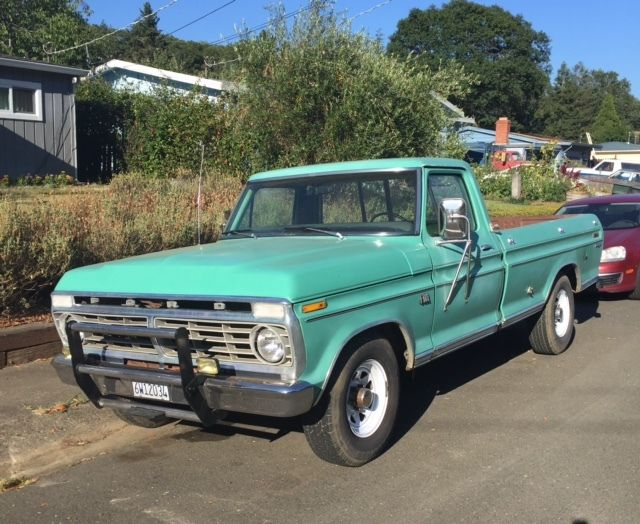 1973 ford f100 ranger pickup long bed 360 engine at rwd classic ford f 100 1973 for sale. Black Bedroom Furniture Sets. Home Design Ideas