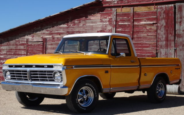 1973 Ford F100 Ranger Xlt Automatic Original Paint Must