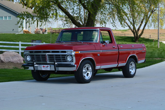 1973 ford f100 ranger xlt bed 390 auto classic ford f 100 1973 for sale