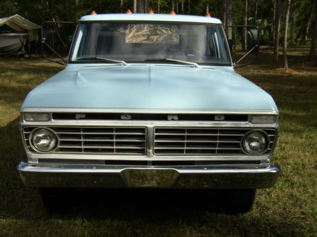 1973 Ford F350 F 350 39780 Miles Flatbed Pick Up Dually
