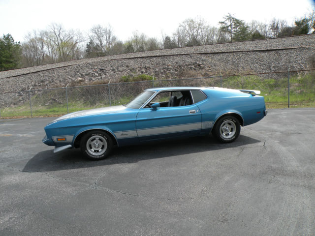 1973 ford mustang mach 1 351 auto ps pb fact air. Black Bedroom Furniture Sets. Home Design Ideas