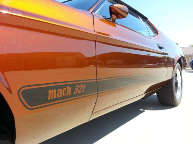 1973 ford mustang sportsroof fastback mach 1 521ci 1972