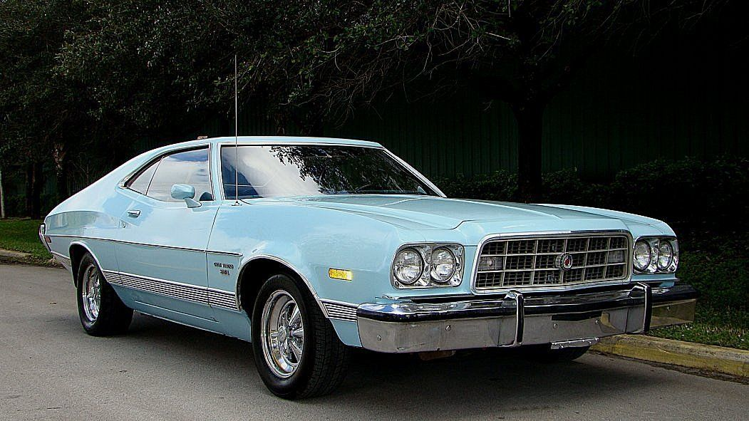1973 ford torino gran sport 341 v 8 runs strong with solid. Black Bedroom Furniture Sets. Home Design Ideas