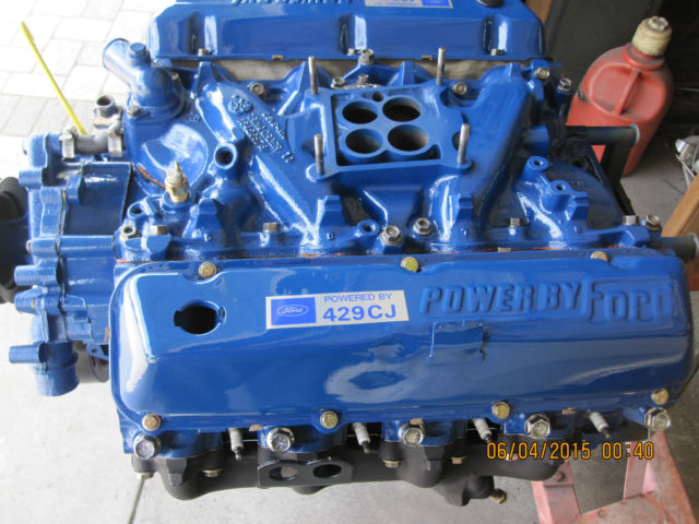 1973 Ford Torino Mercury Cougar 429 Cobra Jet Engine