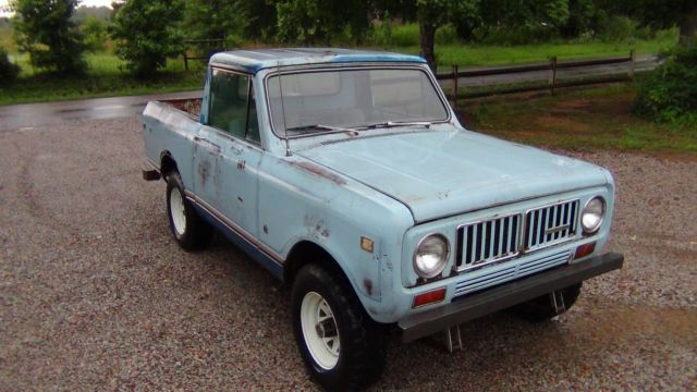 International Harvester Air Conditioner : International scout ii tennessee all its life