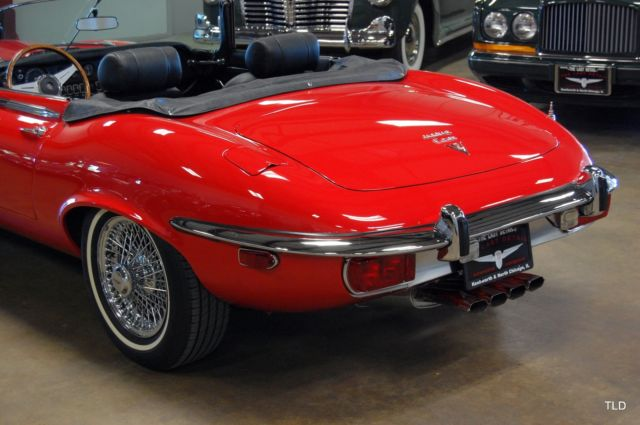 1973 jaguar e type red with 47106 miles available now. Black Bedroom Furniture Sets. Home Design Ideas