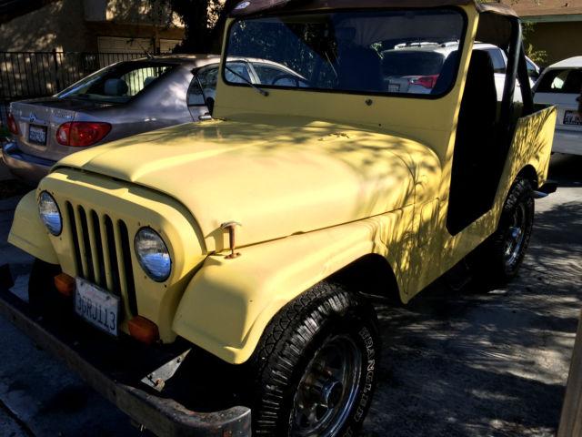 Jeep Huntington Beach >> 1973 Jeep CJ DJ-5C Right Side Driver Jeep Postal Mail ...