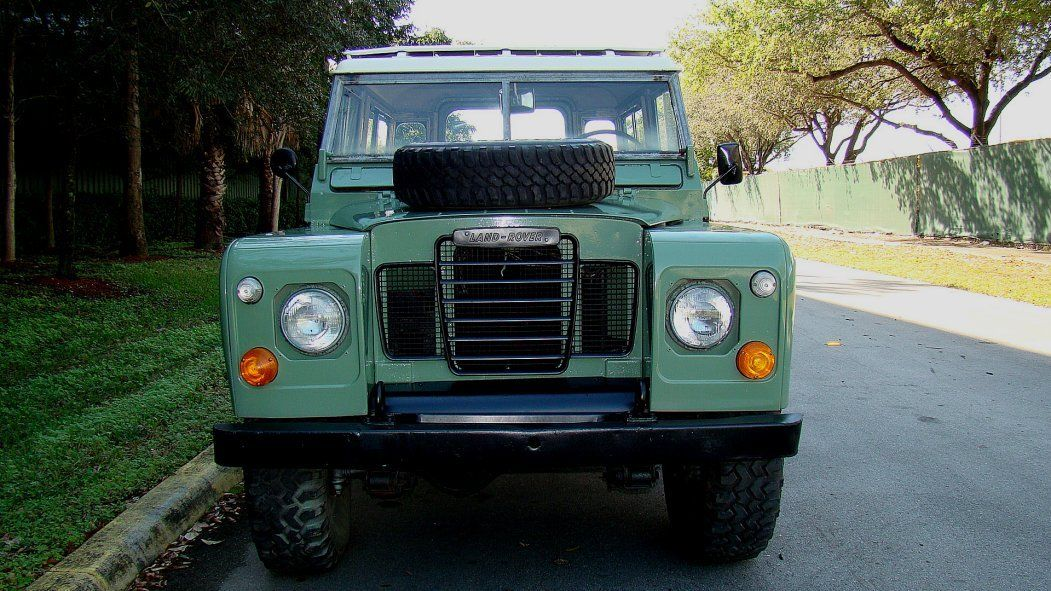 Nissan Maxima For Sale Near Me >> 1973 LAND ROVER SERIES III DEFENDER STYLE SPORT UTILITY VEHICLE LEFT HAND DRIVE - Classic Land ...