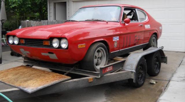 1973 Lincoln Mercury Capri V 6 2600 4 Speed Street Solo