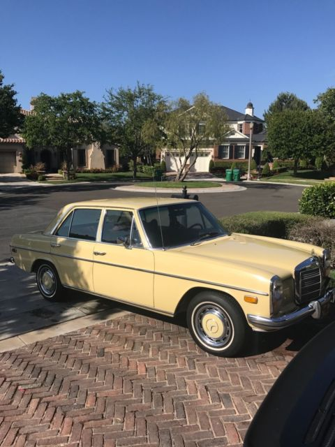 1973 mercedes benz 220d w115 classic mercedes benz 200 for Mercedes benz w115 for sale