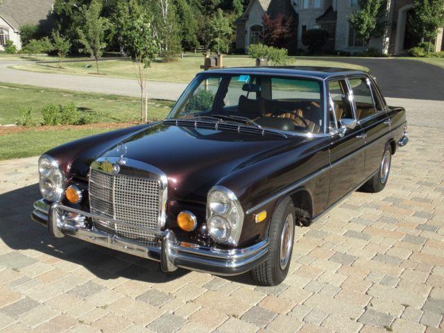 1973 mercedes benz 280 sel 4 5 excellent condition 93k for 1973 mercedes benz 280