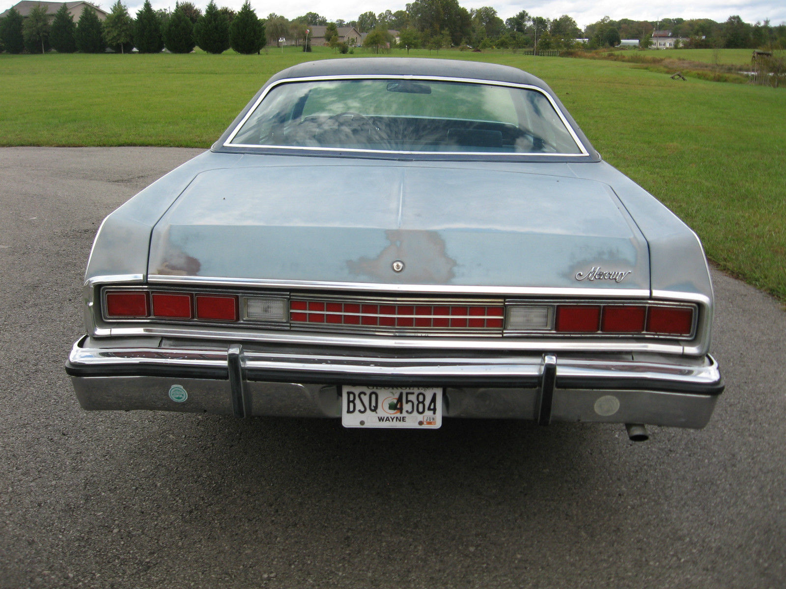 1973 Mercury Grand Marquis Brougham Hardtop 4 Door 7 0l