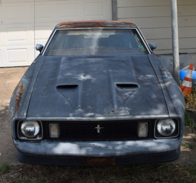 1973 Mustang Mach 1 Project Car! 351C, C6, 3.83:1 Traction