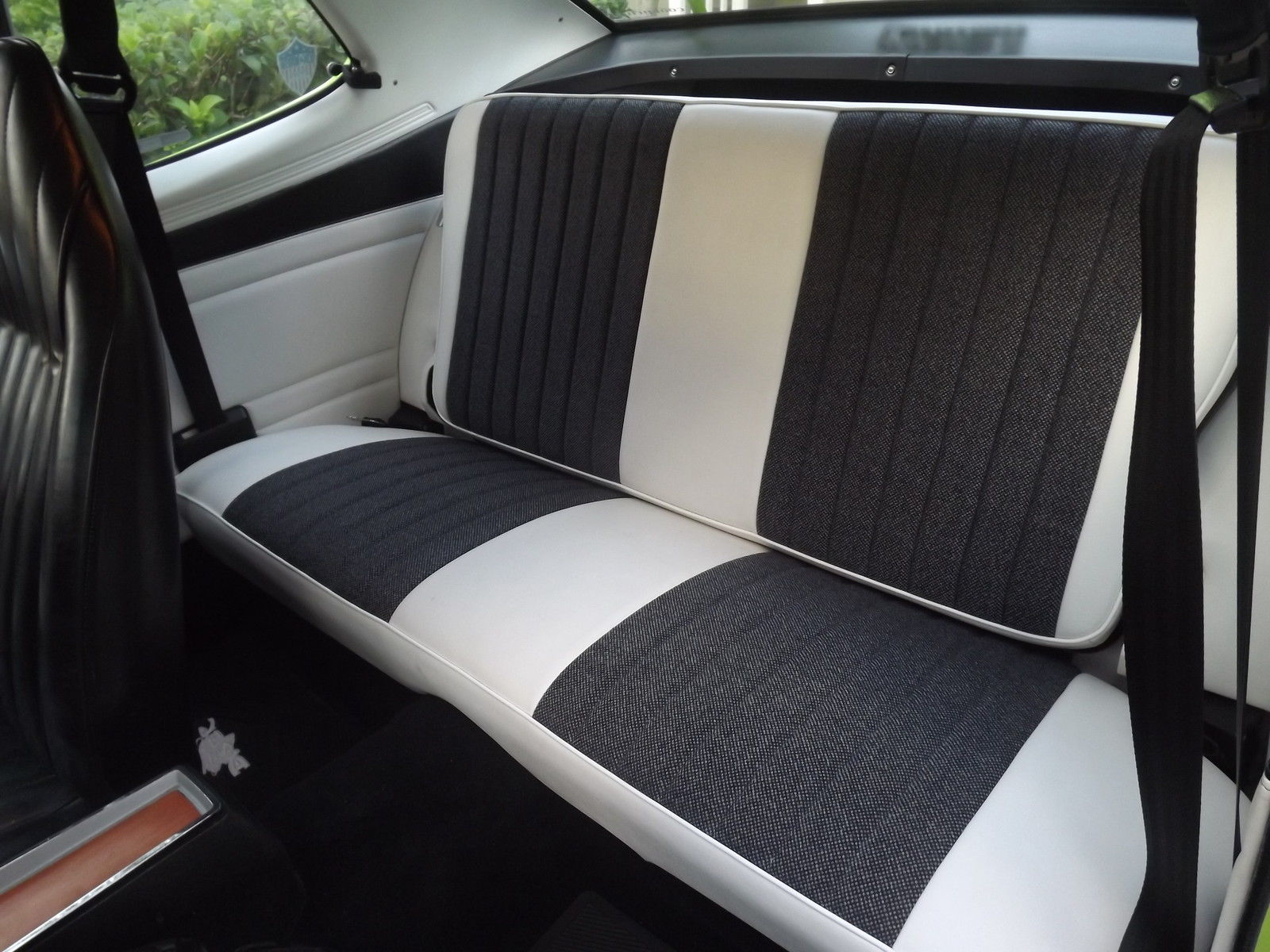 1973 Plymouth Duster H Code Fold Down Rear Seat Classic