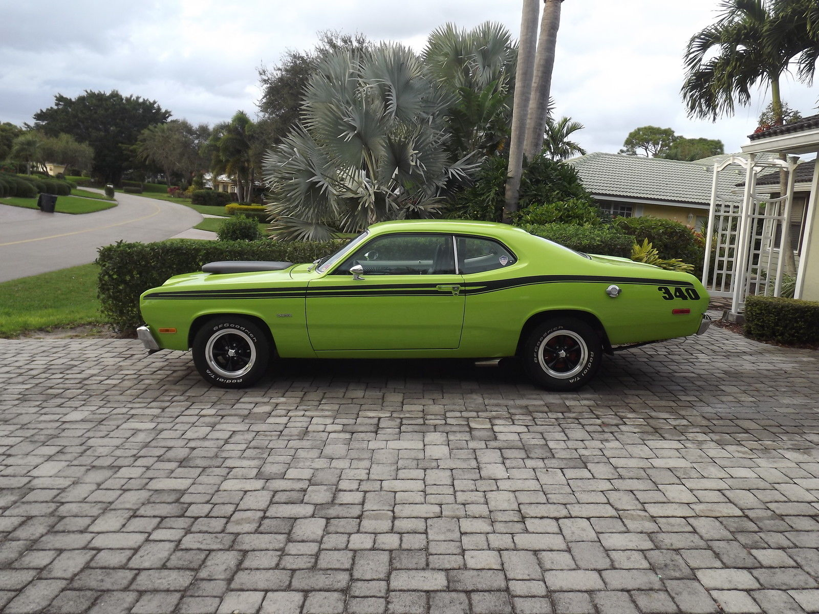 1973 plymouth duster h code fold down rear seat classic plymouth duster 1973 for sale. Black Bedroom Furniture Sets. Home Design Ideas