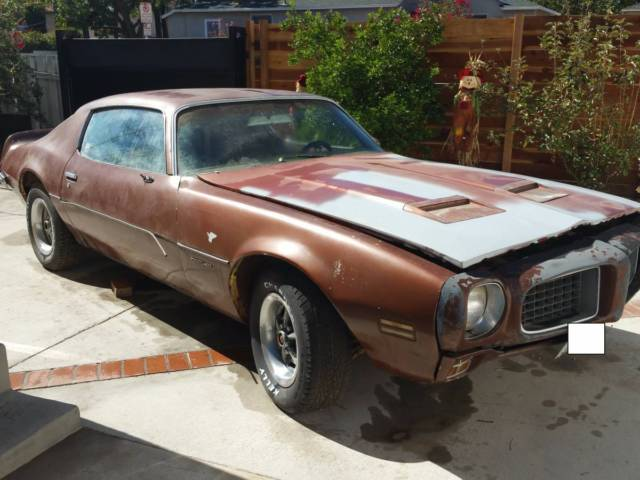 Motor Vehicle Bill Of Sale >> 1973 Pontiac Formula Firebird 400 , Genuine Formula ...