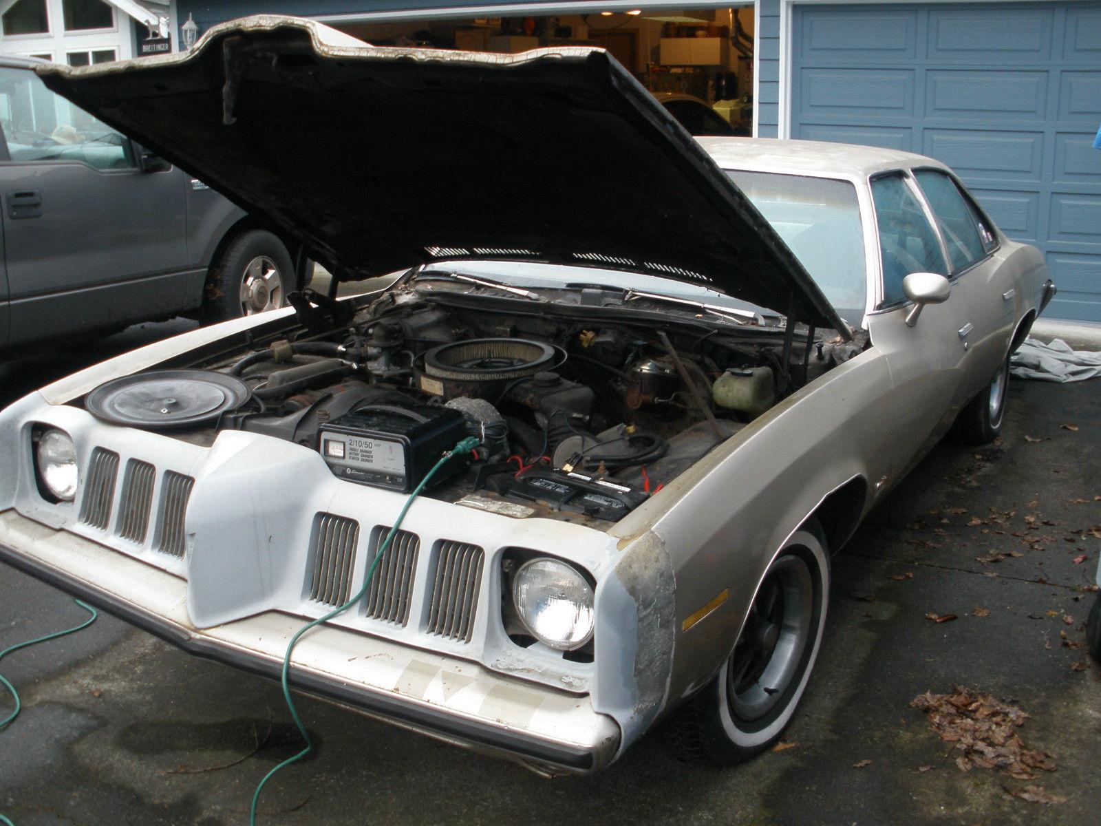 1973 Pontiac Grand Am Base Hardtop 4 Door 66l Classic Gto Project Car
