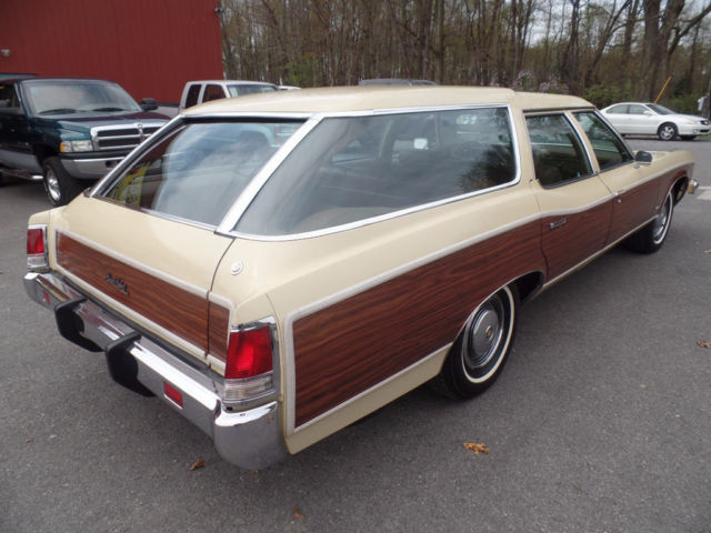 Pa State Inspection >> 1973 Pontiac Grand Safari Station Wagon Survivor Like New Classic Vintage woody - Classic ...