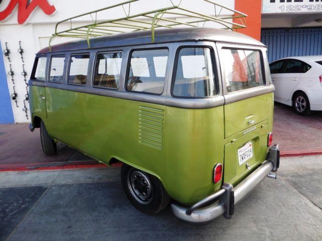 1973 rare vw 15 window deluxe bus classic volkswagen bus for 15 window bus for sale