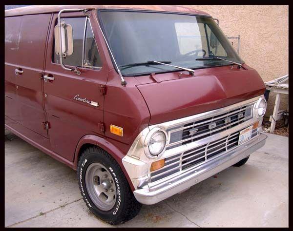 1973 Superb Ford Econoline E 200 Supervan Rebuilt Motor