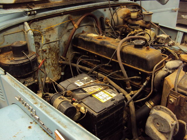 1973 toyota land cruiser fj40 original barn find no for Motor city barn finds