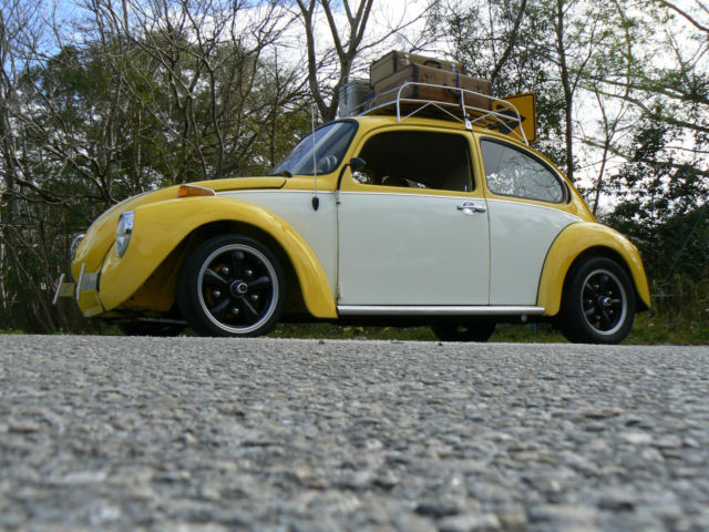 1973 Volkswagen Super Beetle Cal Custom Bug Classic