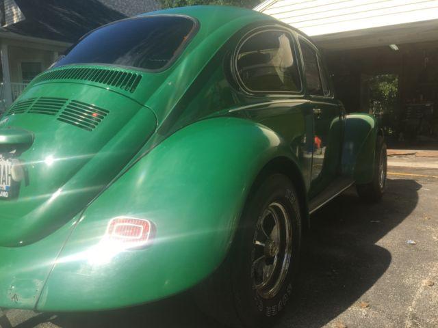 1973 Volkswagen Super Beetle Custom Interior Wide Wheels & Fenders Needs Little - Classic ...