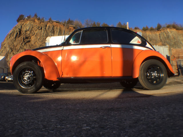 1973 Volkswagen Super Beetle Custom W/1968 1650CC Engine. 4 Speed. 1973 VW Bug - Classic ...