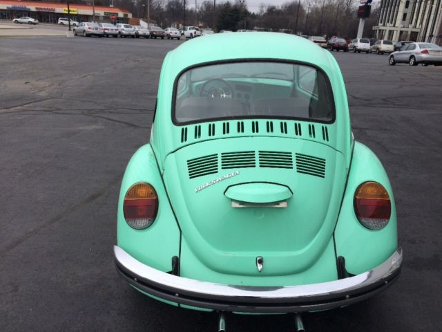 Volkswagen Super Beetle Mint Green