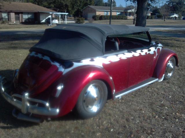 1973 Vw Beetle Custom Suicide Doors Big Engine Classic