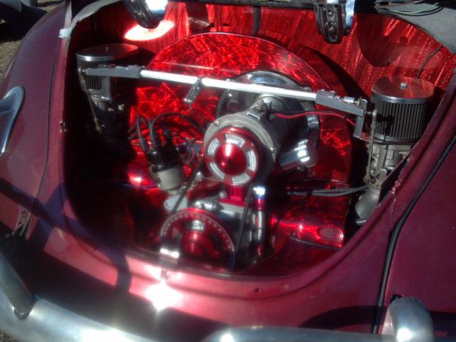Vw Beetle Custom Suicide Doors Big Engine