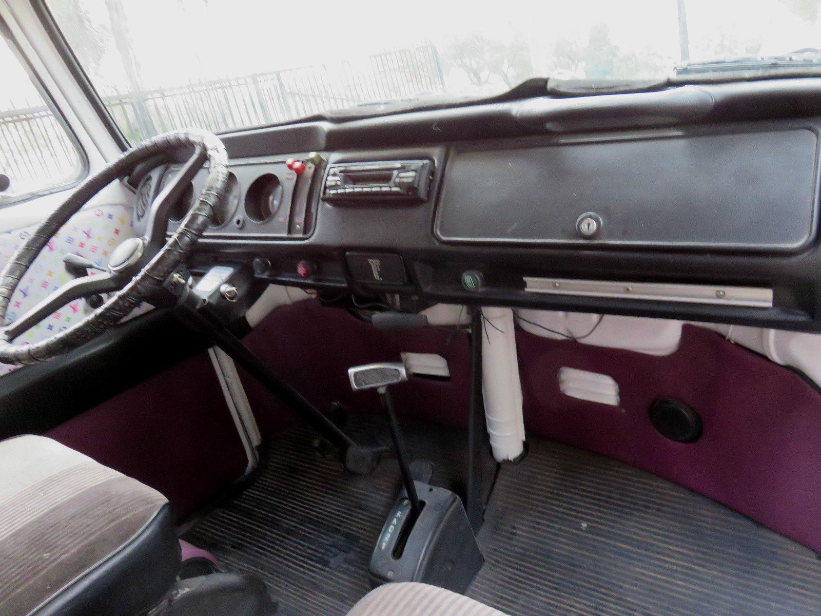 1973 Vw Riviera Camper Automatic Transmission Classic