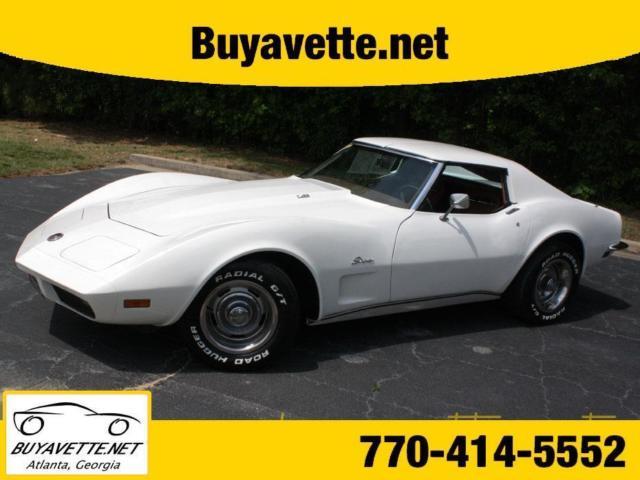 White Corvette Buyavette Inc Atlanta Classic Chevrolet - Buyavette car show
