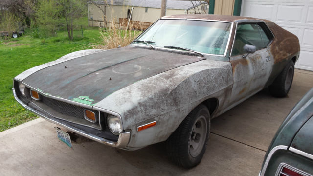1974 Amc Javelin Muscle Car Project V8 727 15 Slotted Mags 71