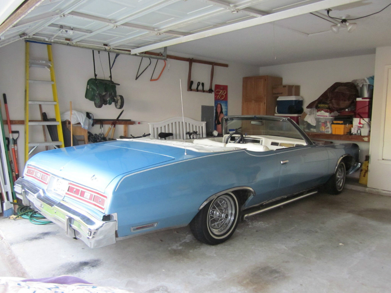 1974 Baby Blue Chevy Caprice Classic Chevrolet For Sale 1968 2 Door