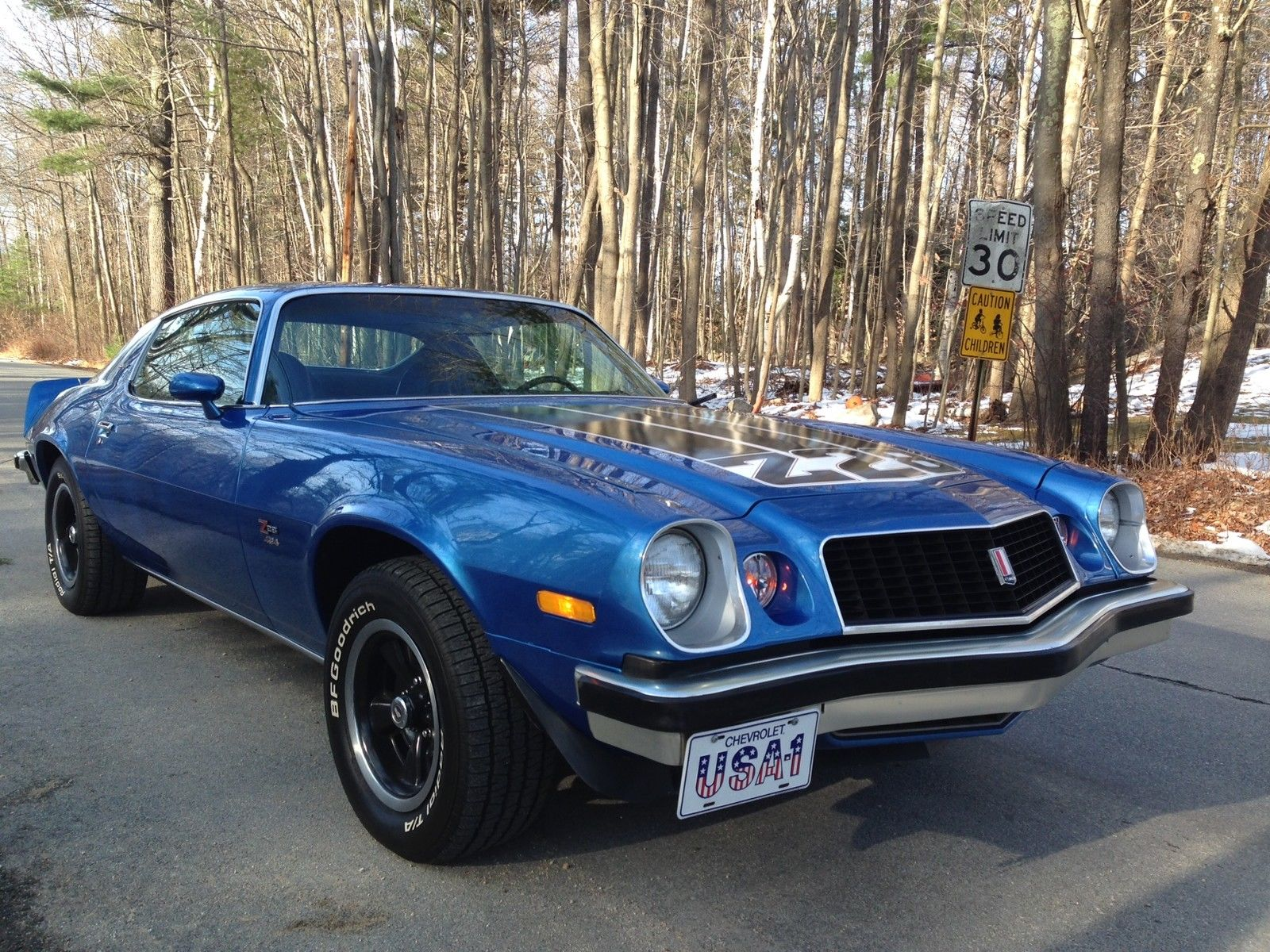 1974 Camaro Z 28 Classic Chevrolet Camaro 1974 For Sale