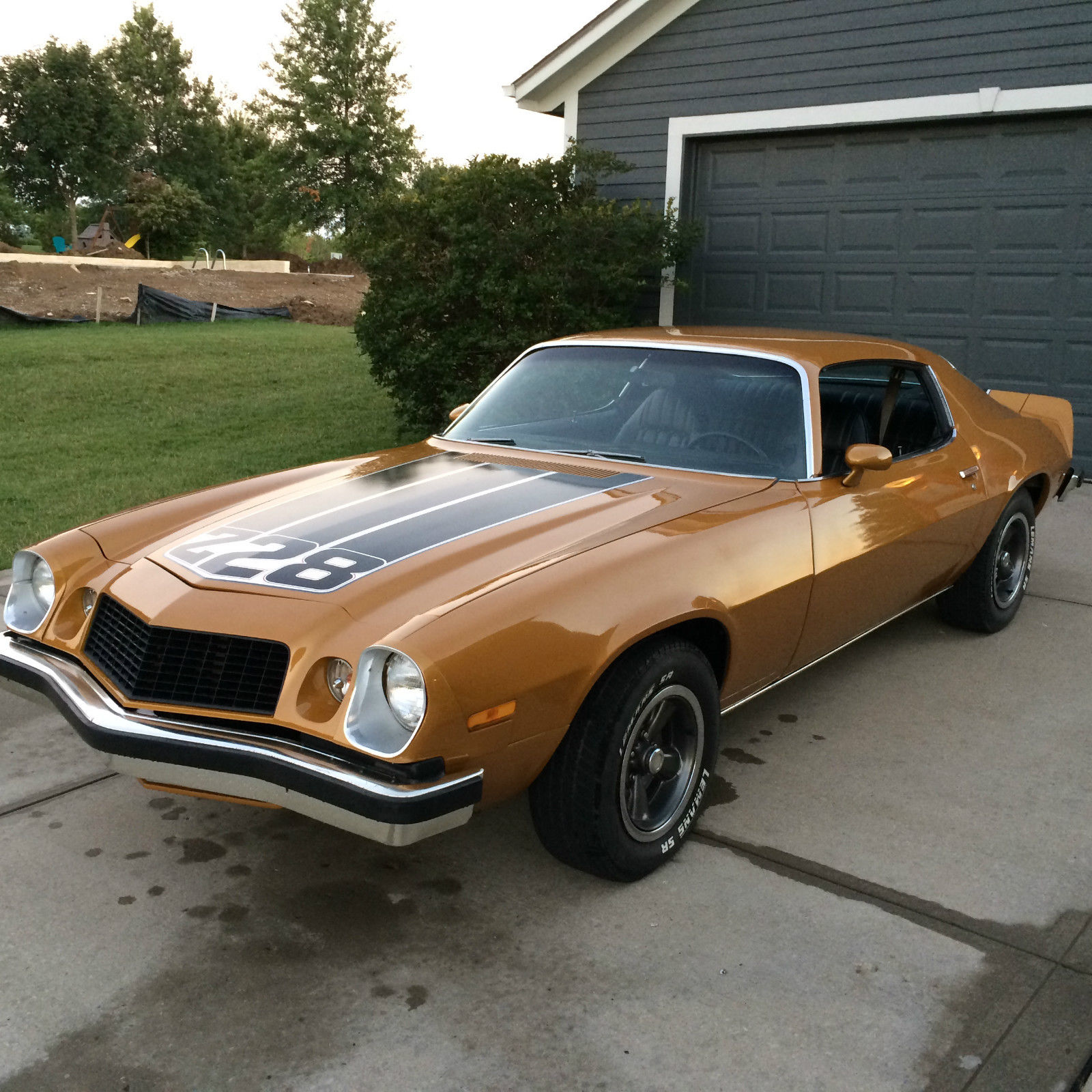 1974 Camaro Z28 All Matching S Drivetrain Recently