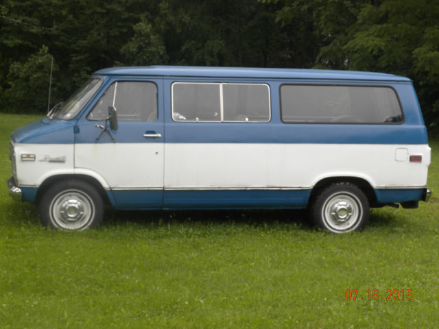 1974 Chev Beauville Window Van - Extended Bed - Classic ...