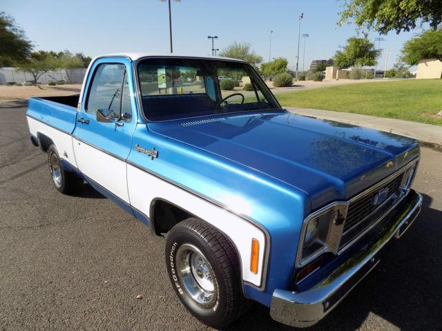 1974 Chevrolet 454 Cheyenne Super Short Bed Classic