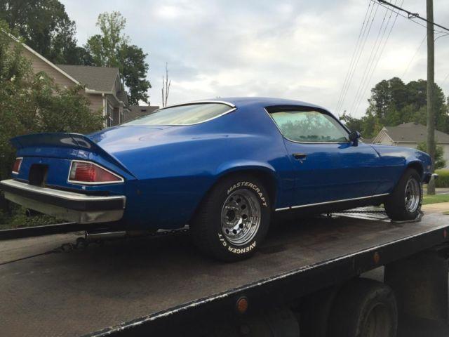 1974 Chevrolet Camaro With Bad Engine Classic Chevrolet