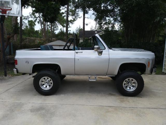 1974 Chevrolet Chevy K5 Blazer Convertible Full Removable Hard Top No Reserve