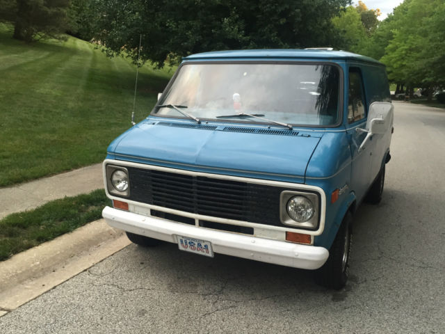 67fbf3d660 1974 Chevrolet G10 Van Custom Chopper Van G20 Shorty Cargo Hippie 80K  Original