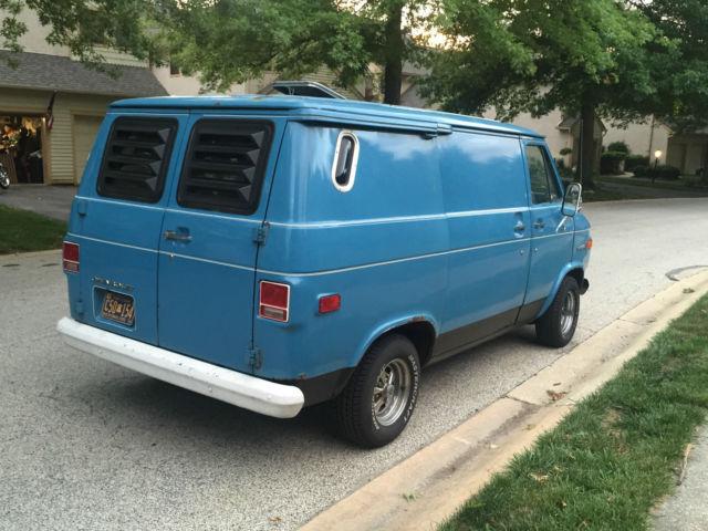 8341a133fd 1974 Chevrolet G10 Van Custom Chopper Van G20 Shorty Cargo Hippie ...