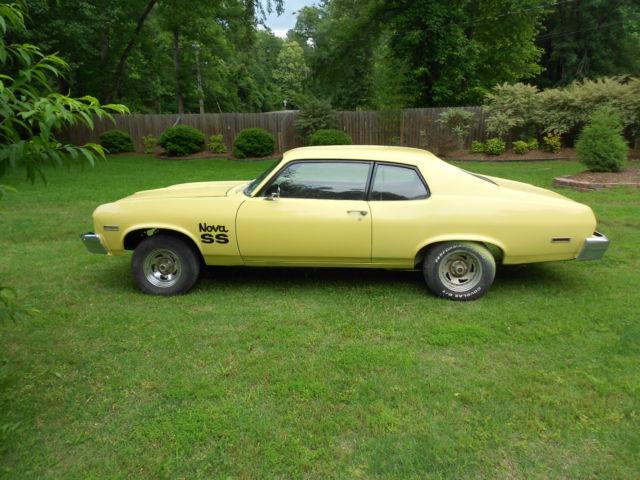 1974 Chevrolet Nova 2 Door Body Project Car Classic
